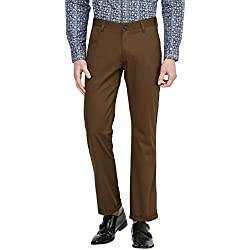 Byford by Pantaloons Men's Trousers 205000005550301_Brown_32
