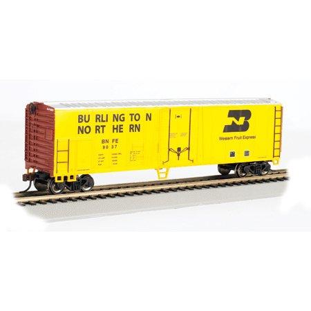 Bachmann Trains Burlington Northern 50' Steel Refrigerated Car-Ho Scale