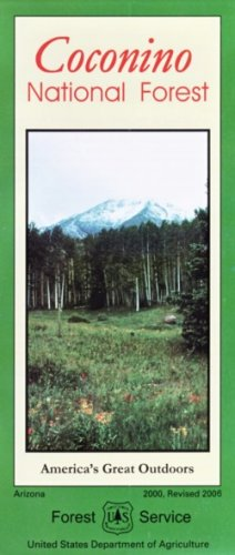 Coconino National Forest Map - Waterproof