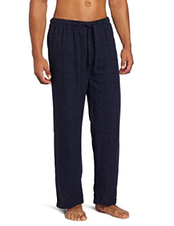 Intimo Men's Flannel Pant, Navy, X-Large