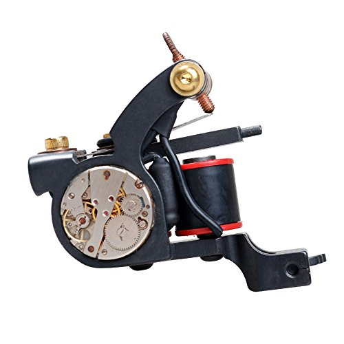 Dragonhawk hand made tattoo machine 10 wrap coils for How much does a tattoo gun cost