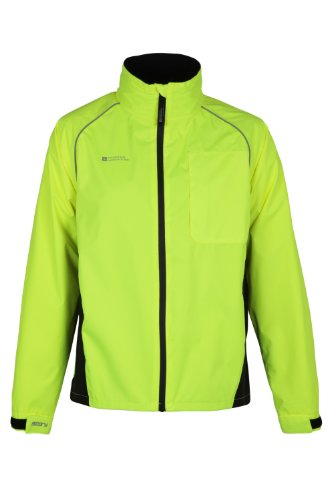 Mountain Warehouse Adrenaline Mens Iso-Viz Cycling Running Reflective Jacket