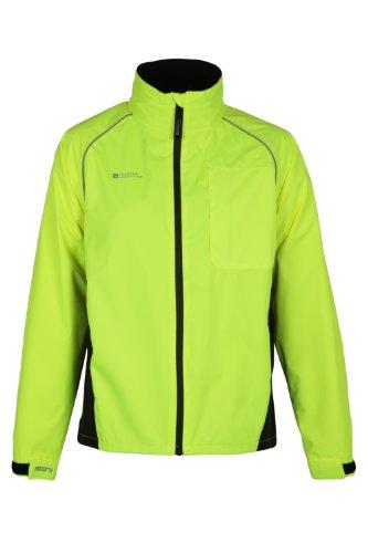 Mountain Warehouse Adrenaline Mens Iso-Viz Cycling Running Reflective Jacket
