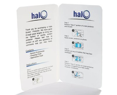 Halo Screen Protector Film Clear Matte (Anti-Glare) for iPhone 4G 4 (3-Pack) – Premium Japanese Screen Protectors