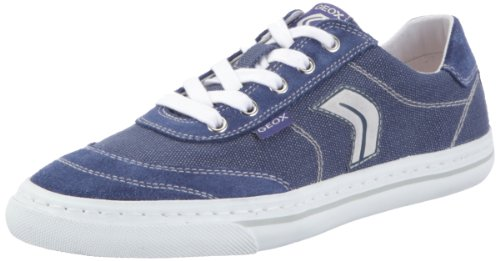 Geox Women's D Jona E Blue Lace Ups Trainers D22A1E1122C4000 7.5 UK, 41 EU