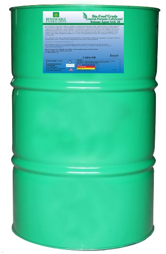 Renewable Lubricants Bio-Food Grade Sae 20 General Purpose Lubricant, 55 Gallon Drum