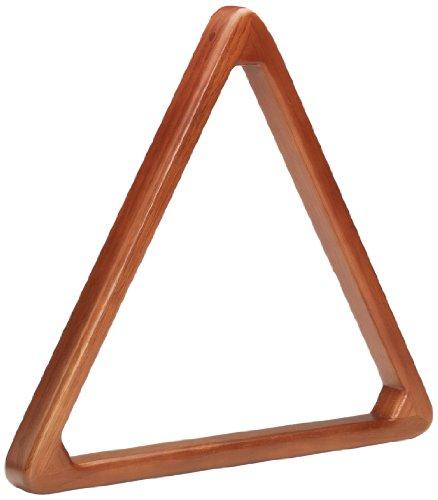 Lowest Price! Pro Series TR8HD Heavy Duty Wooden Billiard Ball 8-Ball Triangle Racks