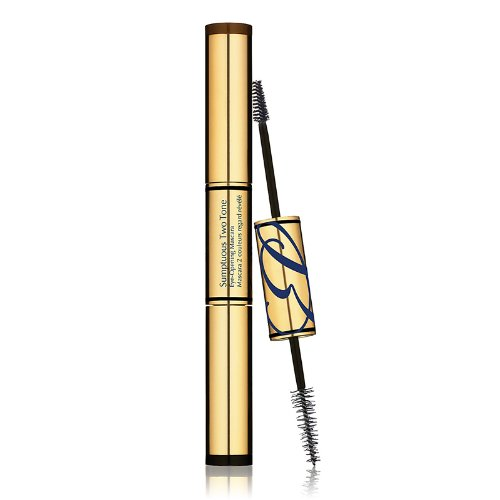 Estee Lauder Sumptuous Two tone Eye-opening mascara SUMTT 01 BOLD BLACK RICH BROWN