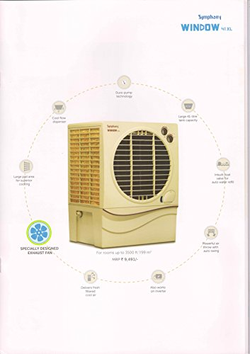 Symphony Window 41 XL Window Air Cooler