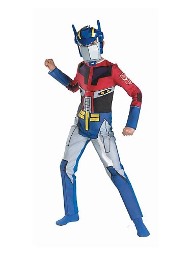 Kids Animated Optimus Prime Costume