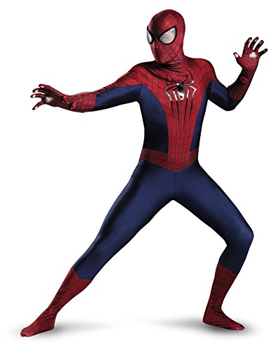 Disguise Men's Marvel The Amazing Spider-Man Theatrical Adult Costume