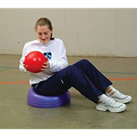 Sportime Turt-L-Shell Inflatable Therapy and Exercise Dome - 23 inches Diameter by Sportime