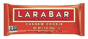 Larabar Snack Bar, Cashew Cookie, 16 ct, 1.7 oz
