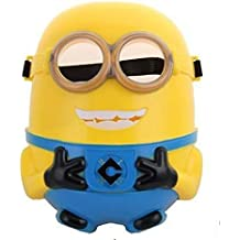 PARTY PROPZ MINION MASK 1PC/ MINION PARTY SUPPLIES/ MINION BIRTHDAY