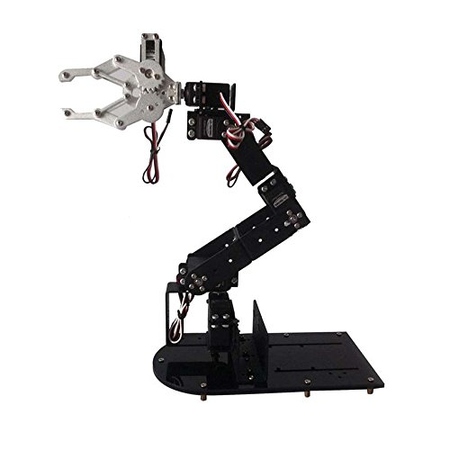 H456 Abb Industrial Robot Mechanical Arm 100% Alloy Six degrees of freedom Robot Arm Rack with 6 Servos (Robot Abb compare prices)