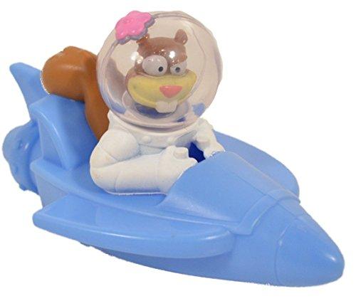 Mcdonalds Happy Meal Toy Spongebob Sandy Rocket Boat #15 - 1