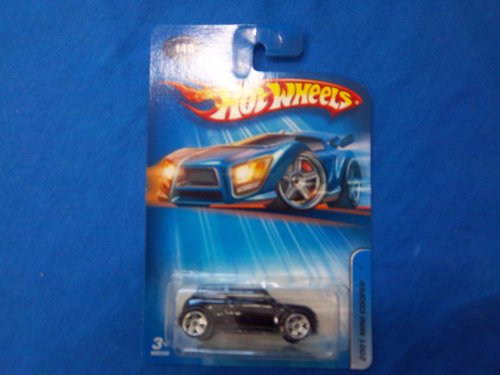 #2005-140 2001 Mini Cooper Faster Than Ever Wheels Collectible Collector Car Mattel Hot Wheels - 1
