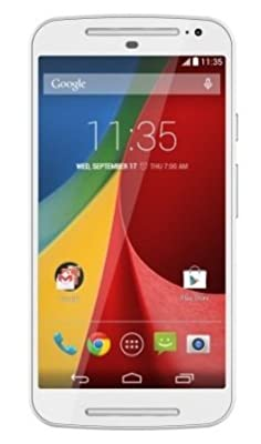 Moto G (2nd Generation) (White, 16 GB)