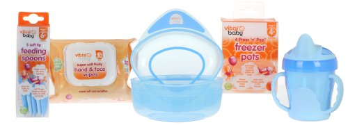 Vital Baby Feeding Kit, Baby Boy - 1