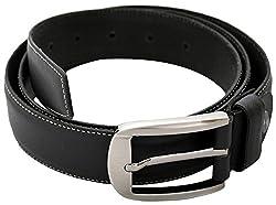 URBAN DISENO Men's Belt (Ud-belt-03_Small, Black, Small)