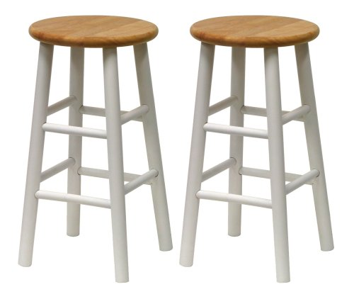 Best Cheap Winsome Beveled 24 Inch Counter Stools Metal