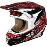 "FLY Racing Formula MX Helmet ""SCRAMBLE"" (XL, Red)"