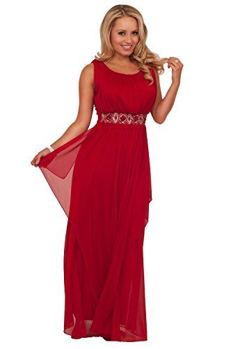 Hot from Hollywood Womens Empire Waist Party Long Special Occasion Maxi Dress
