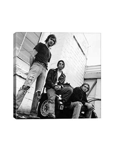 Retro Images Nirvana Outside Archive Gallery-Wrapped Canvas Print