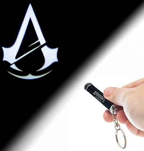 Assassin's Creed Unity Flashlight Projection Keychain - 1