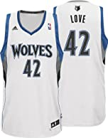NBA Minnesota Timberwolves Kevin Love Revolution 30 Home Swingman Jersey by adidas