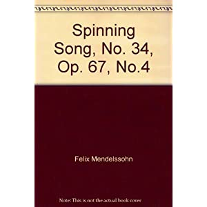 Spinning Song, No. 34, Op. 67, No.4