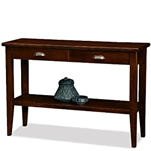 Leick Laurent 2-Drawer Storage Console Table