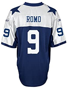 Reebok Dallas Cowboys Tony Romo Throwback Authentic Jersey 60 Drknv [Misc.]