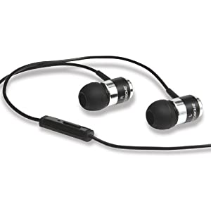 Scosche IDR400M Deluxe Noise-Isolation Earphones With Handsfree Microphone (Discontinued by Manufacturer)