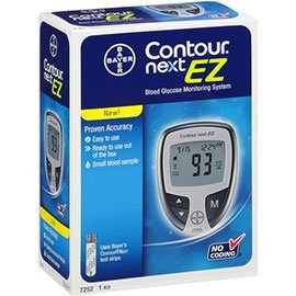 Amazon Com Bayer Contour Next Ez Glucose Meter Kit