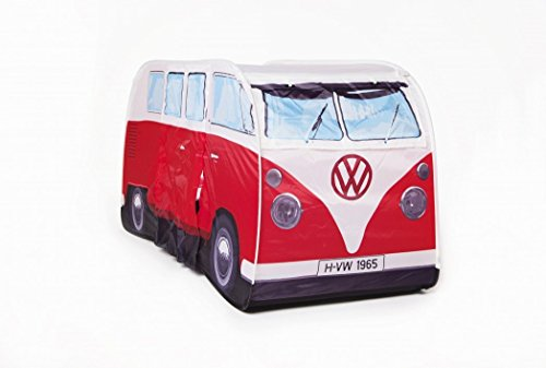 VW Volkswagen T1 Camper Van Kids Pop-Up Play Tent - Red - Multiple Color Options Available (Volkswagen T1 Camper Van compare prices)