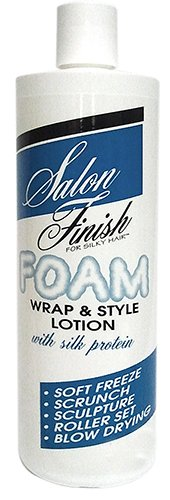 Salon Finish Foam Wrap & Style Lotion with Silk Protein, 8 Ounce by Salon Finish