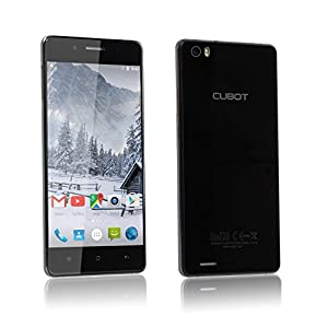 Cubot X17S Sim Free Smartphone 3 GB Ram Unlocked Mobile Phone Dual Sim 5 Inch Quad Core Android 5.1 LTE/FDD/4G Dual Camera 16 MP Pixels 16GB Rom Unlock Cell Phone (Black)