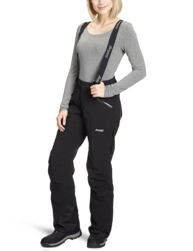 Bergans Damen Hose Oppdal Insulated Lady pants, Black, S, 5023