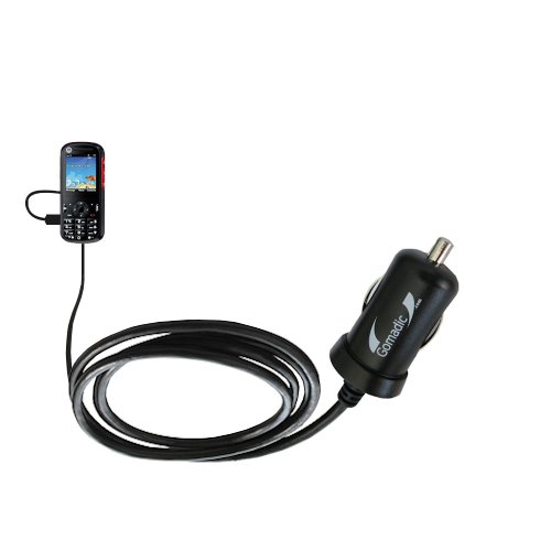 Mini 10W Car / Auto Dc Charger Designed For The Motorola Ve440 With Gomadic Brand Power Sleep Technology - Designed To Last With Tipexchange Technology
