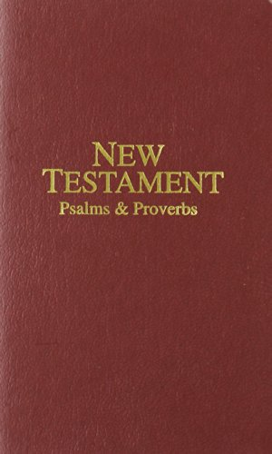 Vest-Pocket New Testament with Psalms and Proverbs-KJV