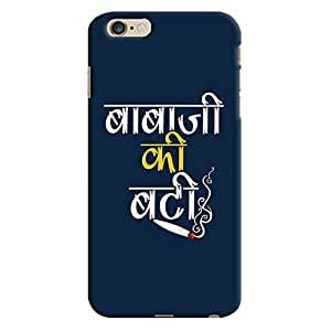 ColourCrust Apple iPhone 6S Plus Mobile Phone Back Cover With Baba Ji Ki Booty Quirky - Durable Matte Finish Hard Plastic Slim Case