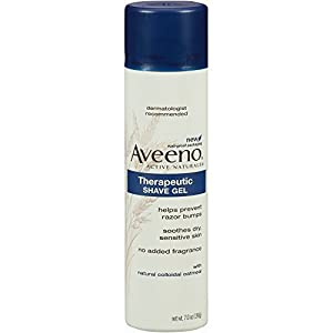 Aveeno  Therapeutic Shave Gel with Natural Colloidal Oatmeal 7 oz (198 g)