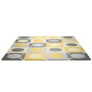 Skip Hop Playspot Foam Floor Mat Gold Grey
