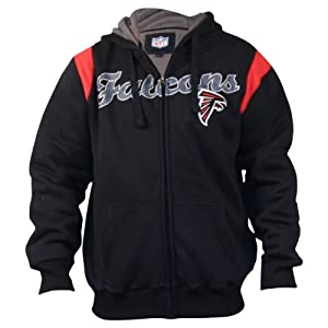 Atlanta Falcons Sherpa Lined Full Zip Hoodie by NFL