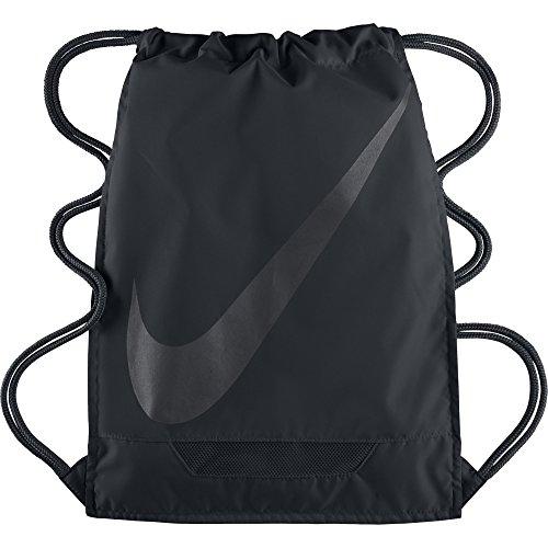 Nike Sportbeutel Gymsack 3.0, Black, 47.5 x 35.6 x 2 cm, 13 Liter, BA5094-001