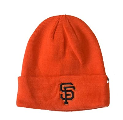 Orange San Francisco Giants Cuff Long Knit Beanie, One-size MLB