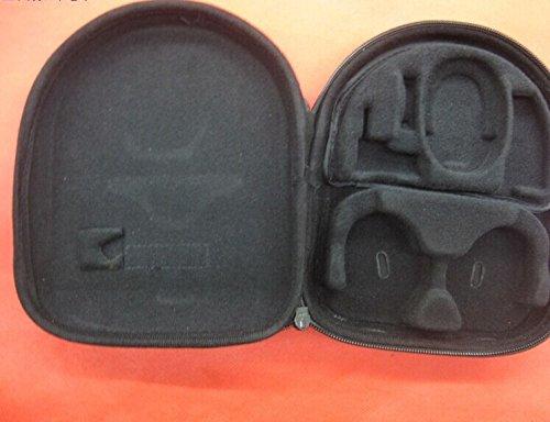 Black Portable Headphone Headset Earphone Case Box Pouch Bag For Bose Quietcomfort 3 Qc 3 Qc3