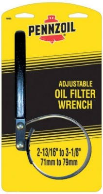 Custom Accessories 19402 Small Pennzoil Oil Filter Strap Wrench - Quantity 6