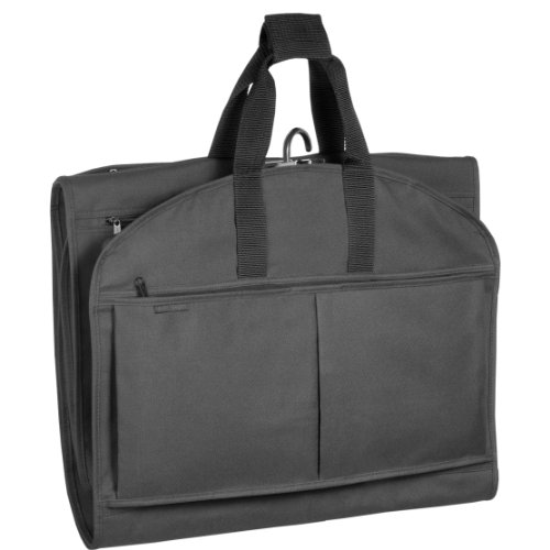 wallybags-52-inch-garmentote-tri-fold-with-pockets-black-one-size